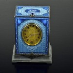 Art-Deco-Swiss-Blue-Enameled-Silver-and-Grey-Marble-Minute-Repeating-Clock-368x245