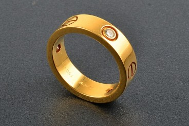 Cartier 18K YG Love Ring