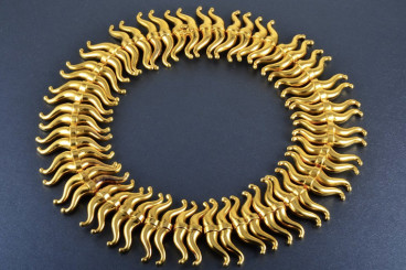 Impressive Lalaounis Gold Necklace