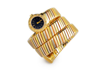 Bulgari Tri-color Tubogas Wristwatch