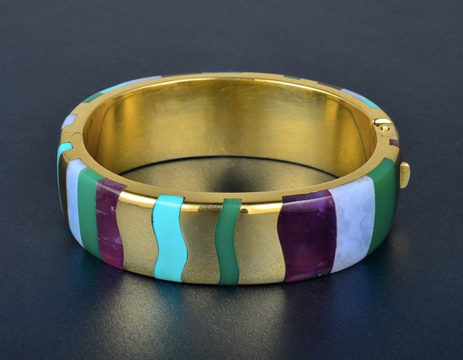 Tiffany & Co. Inlay Bracelet