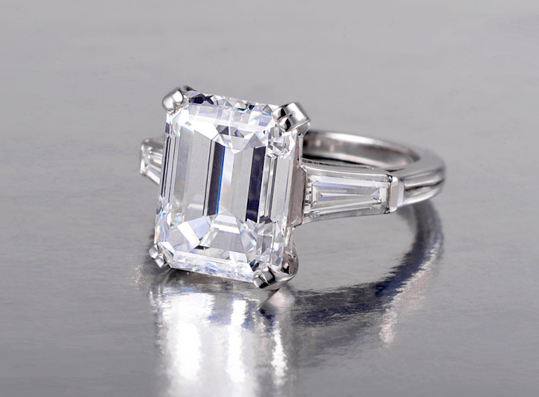 Tiffany & Co. 6.01 I VS1 Diamond Ring