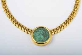 Bulgari Ancient Coin Necklace