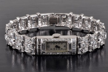 Blancpain Platinum diamond watch