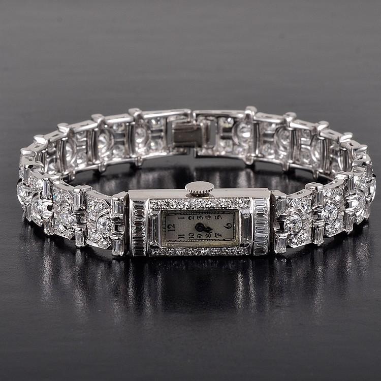 Blancpain Platinum diamond watch