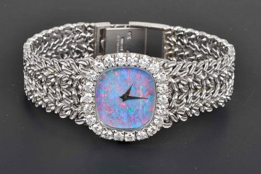 Buche-Girod 18K Diamond Mechanical Women's Watch