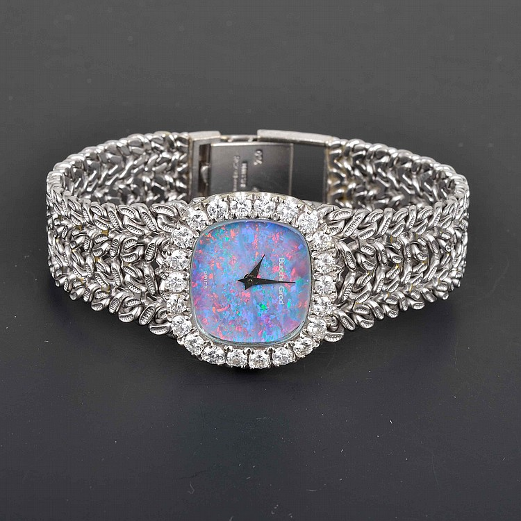 Buche-Girod 18K Diamond Mechanical Women's Watch