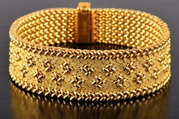 Cartier yellow gold bracelet