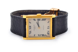 Cartier Retro Patek Phillippe Men's Gold Watch