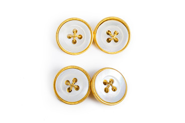 Buccellati Gold Mother of Pearl Cufflinks