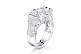 VC&A 10.33ct D IF Diamond Ring