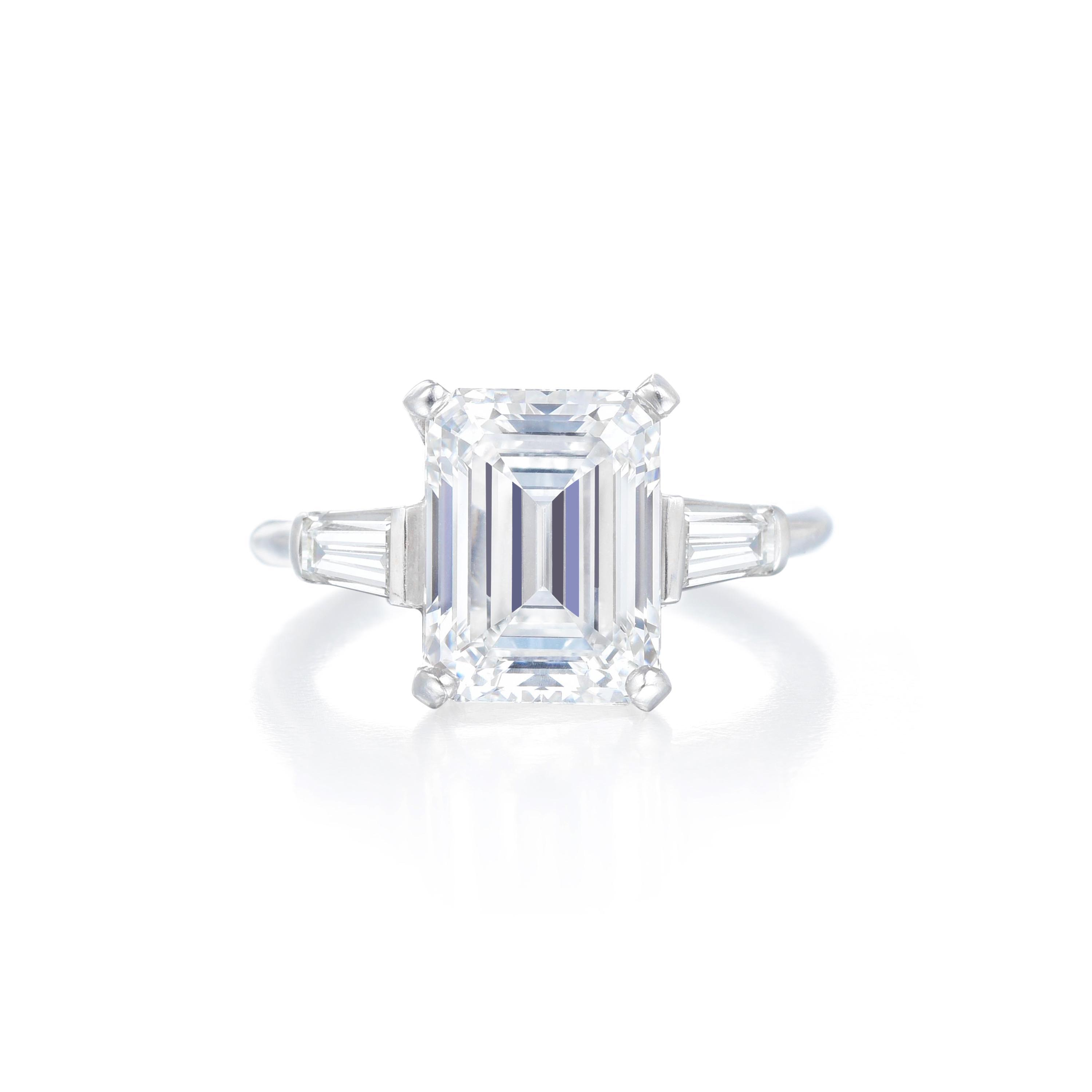 VC&A 3.33ct Diamond Ring