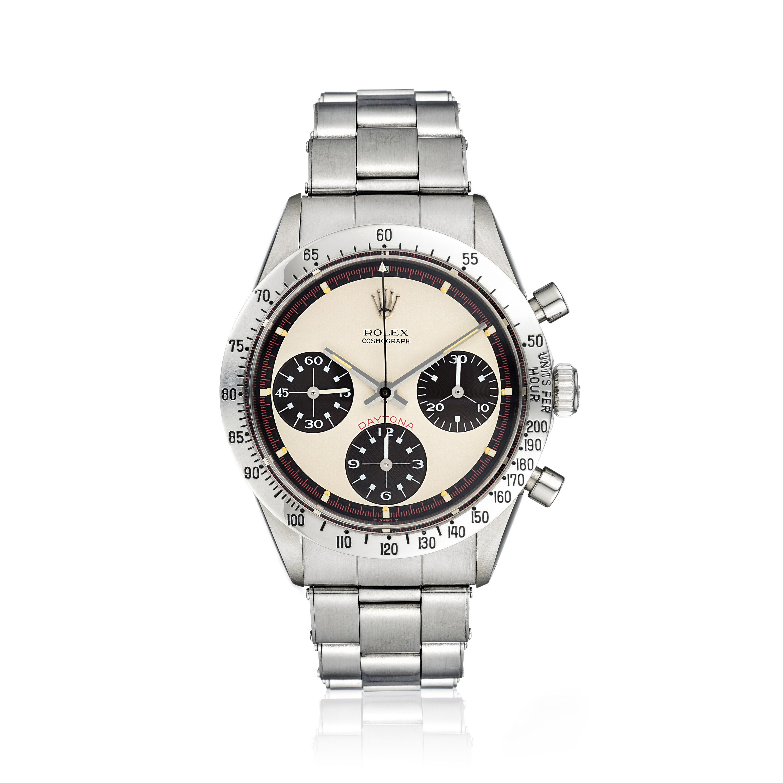 Rolex Paul Newman Daytona-Fortuna Auction Important Watches