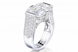 Van Cleef & Arpels 10.33ct D IF Diamond Ring