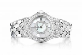 Patek Philippe Neptune Diamond White Gold Watch