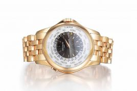 Patek Philippe Word Time Rose Gold Men's Watch