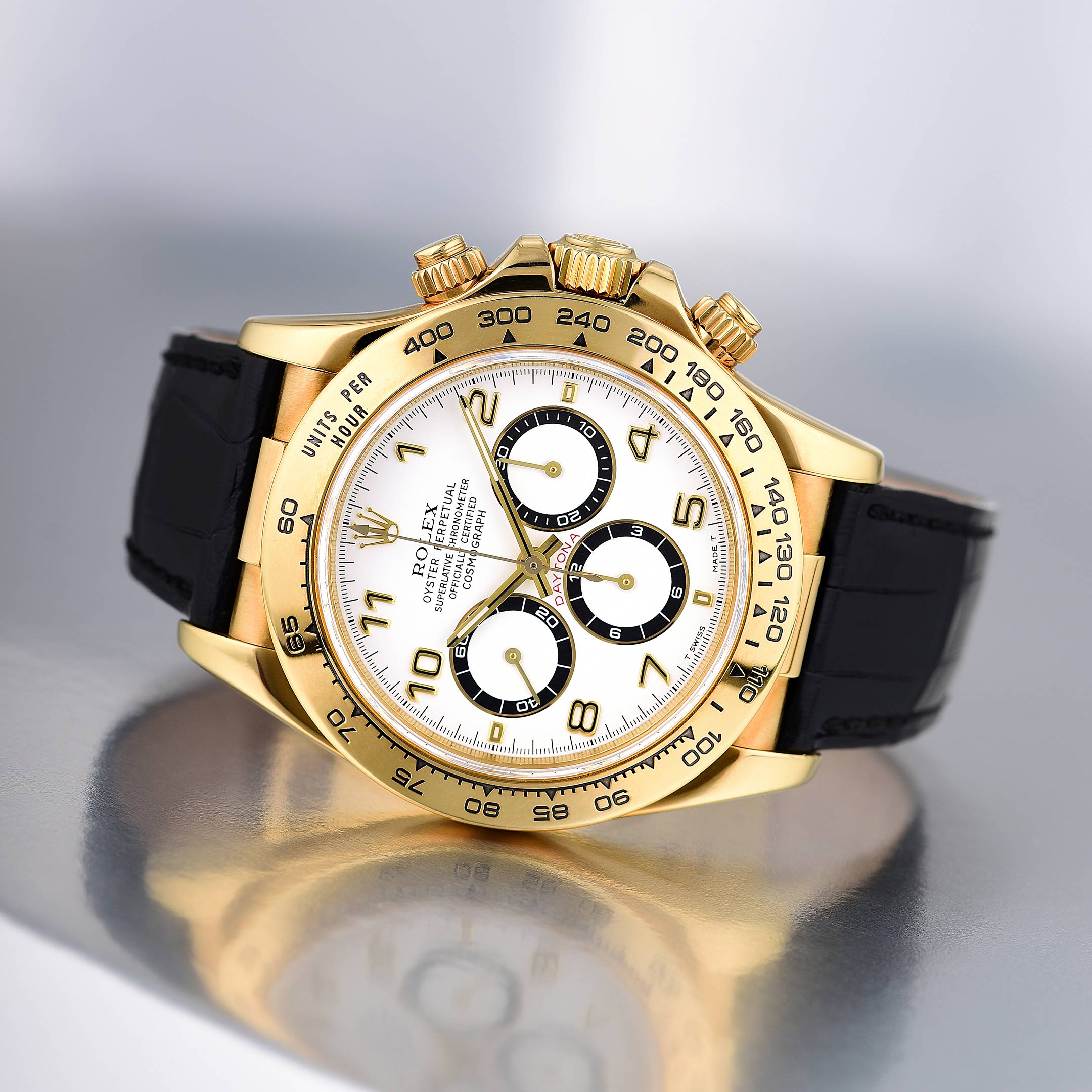 Rolex Daytona Ref. 16518 in Yellow Gold - Fortuna NYC Fine Jewelry & Watch Auction