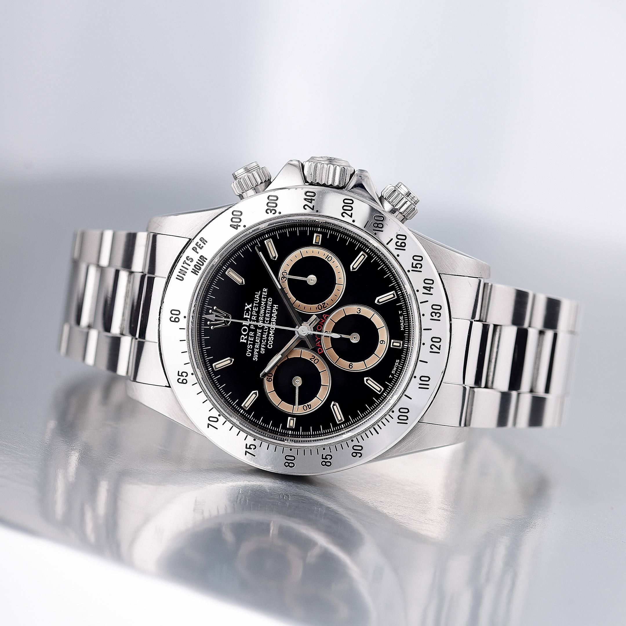 Rolex Daytona Ref. 16520 with Patrizzi Dial - Fortuna NYC Fine Jewelry & Watch Auction