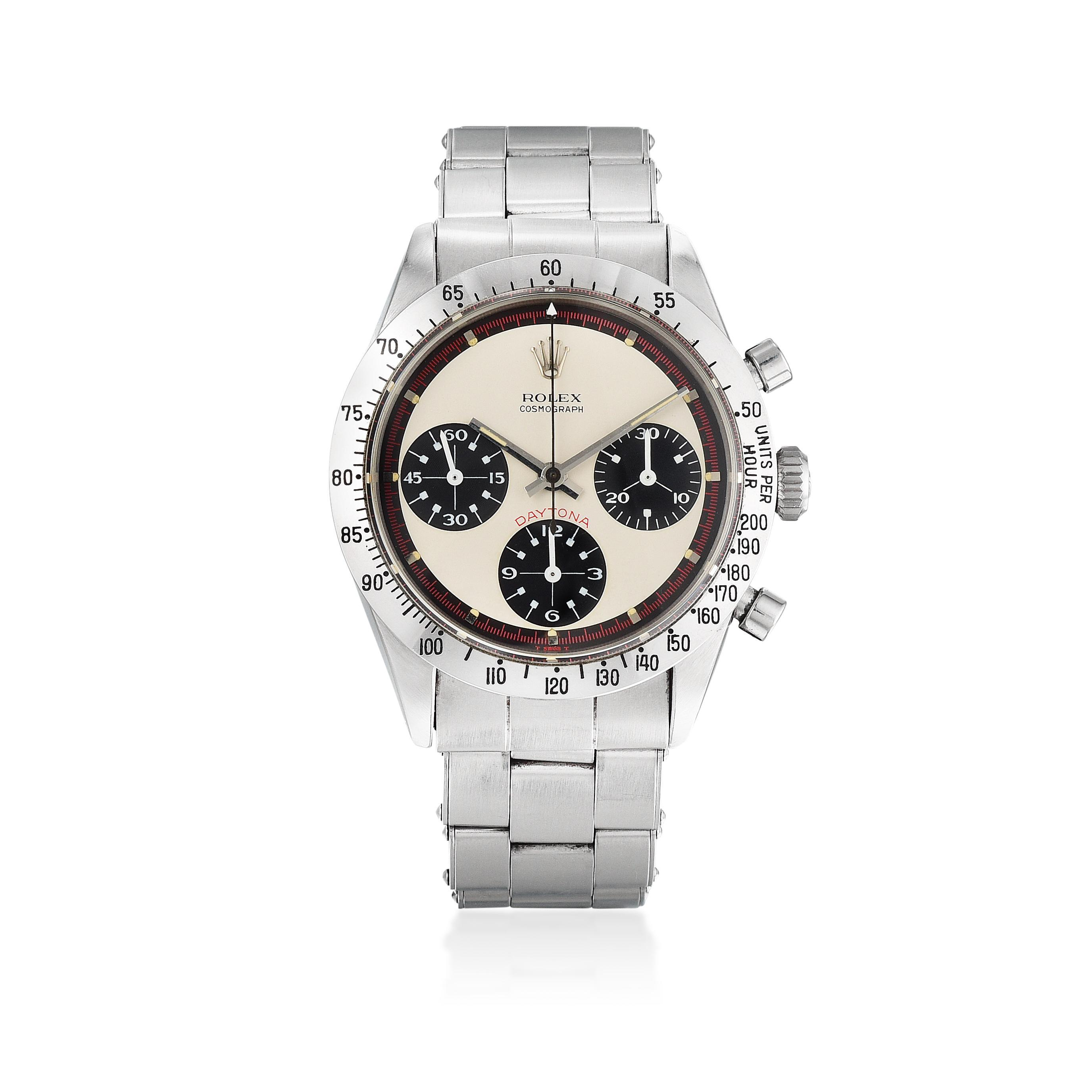 Rolex Paul Newman Daytona Fetches 275 000 At Fortuna S Important