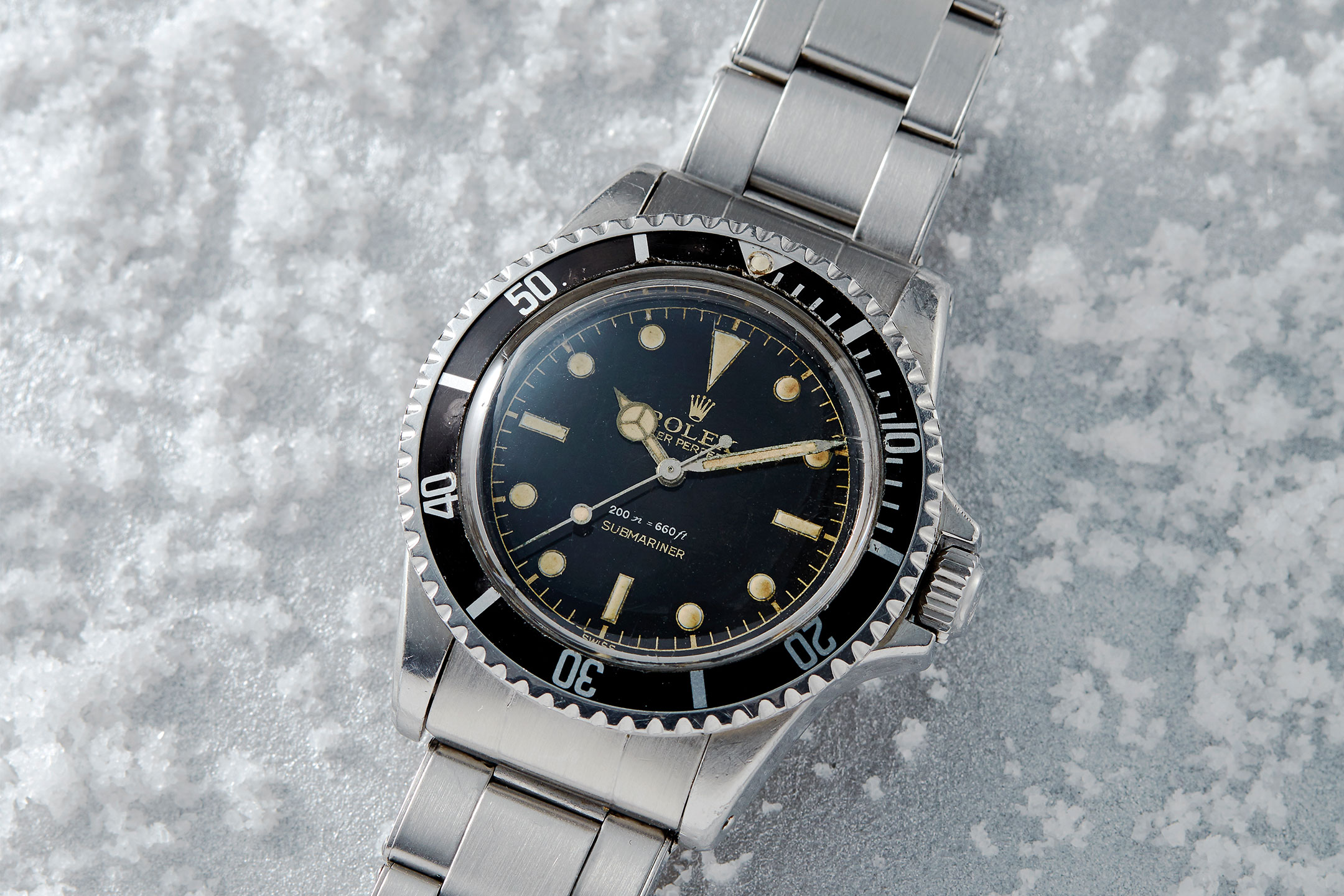 Rolex Submariner Ref. 5512 Square Crown Guards - Fortuna Fine Jewelry & Watch Auction NYC