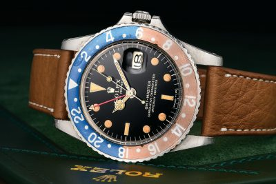 2019APR Vintage Rolex GMT Master 1675 Gilt Dial - Fortuna Exchange Monthly Jewelry Watch Auction