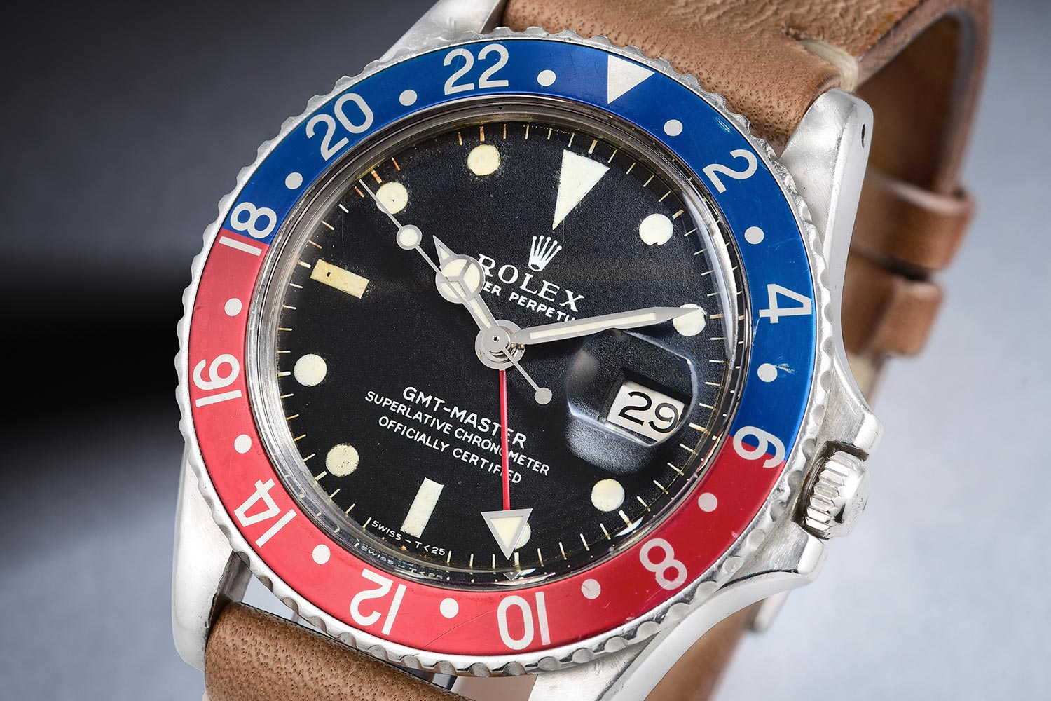 2019JUN Rolex GMT-Master 1675 Vintage Watch Auction