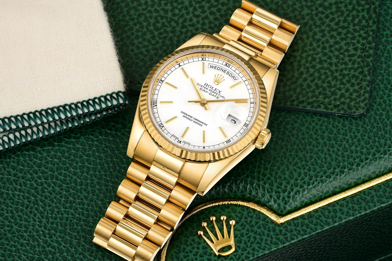 Rolex Presidential Day-Date Ref. 118238 - Fortuna No Reserve Watch Auction