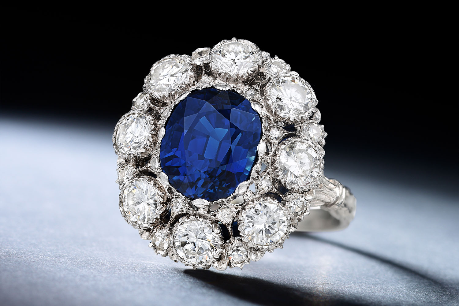 Buccellati Sapphire and Diamond Ring - Fortuna Exchange Monthly Jewelry & Watch Auction