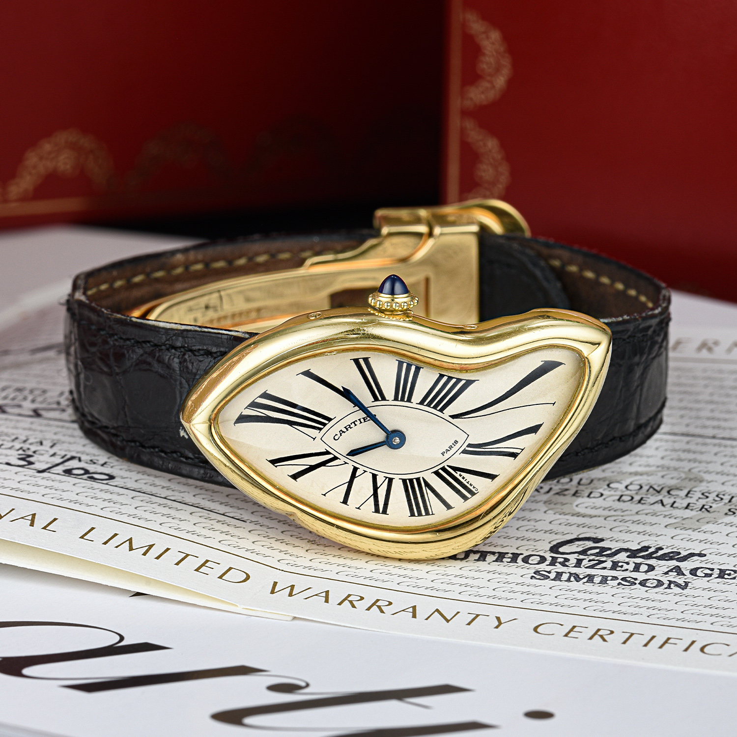 Cartier Crash 1991 Limited Edition - Fortuna December 2019 Important Watches