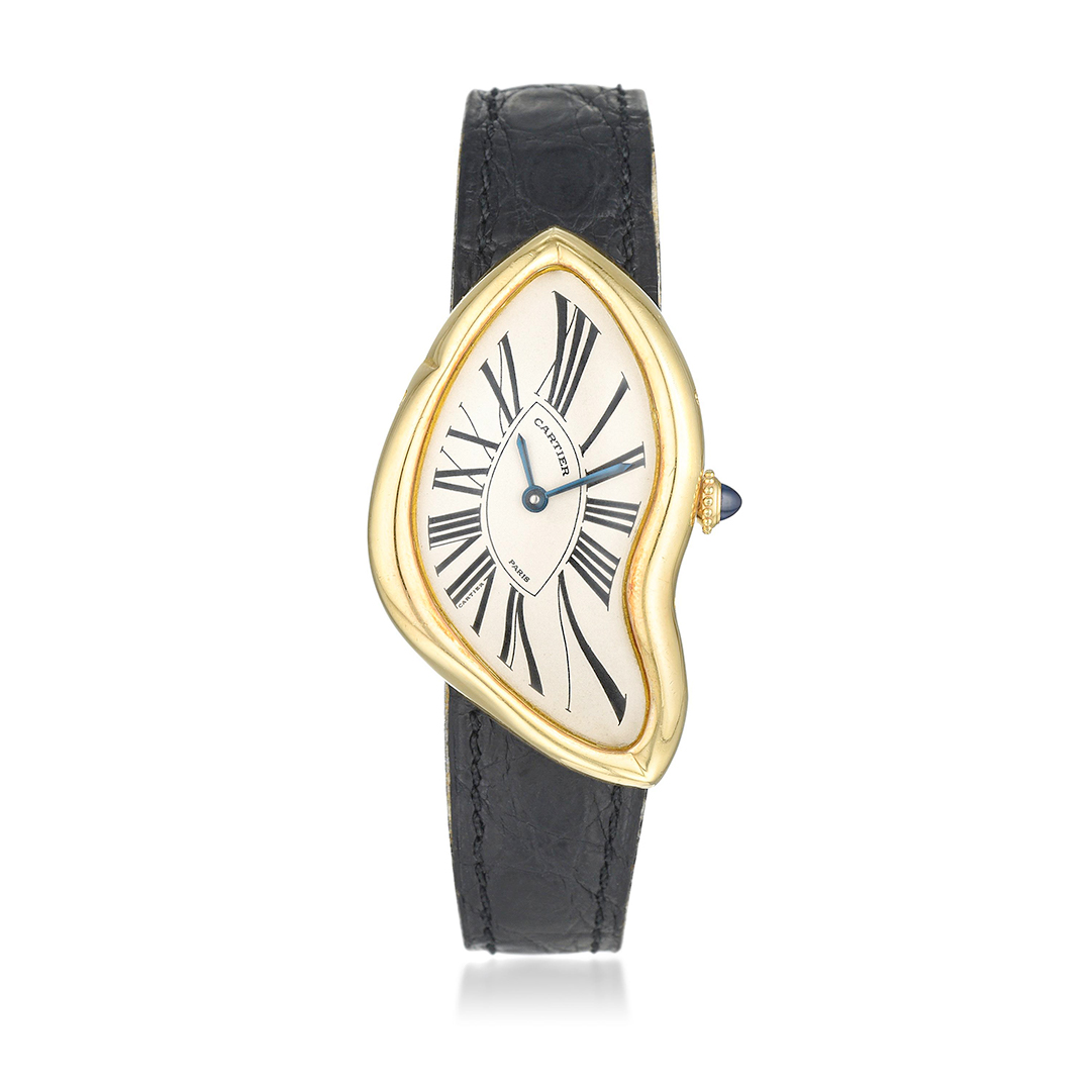 Cartier Crash Watch 1991 Limited Edition - Fortuna Important Watches Auction