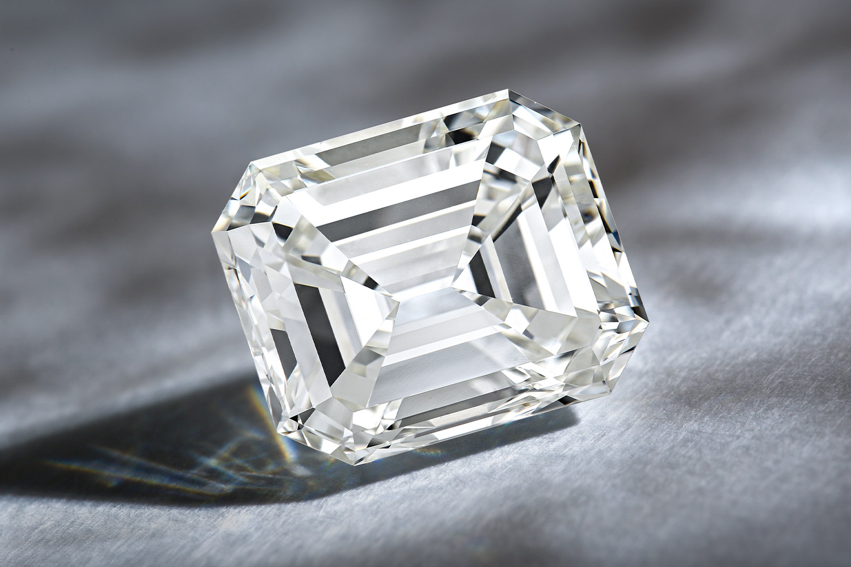 4.13ct Loose Emerald-Cut Diamond