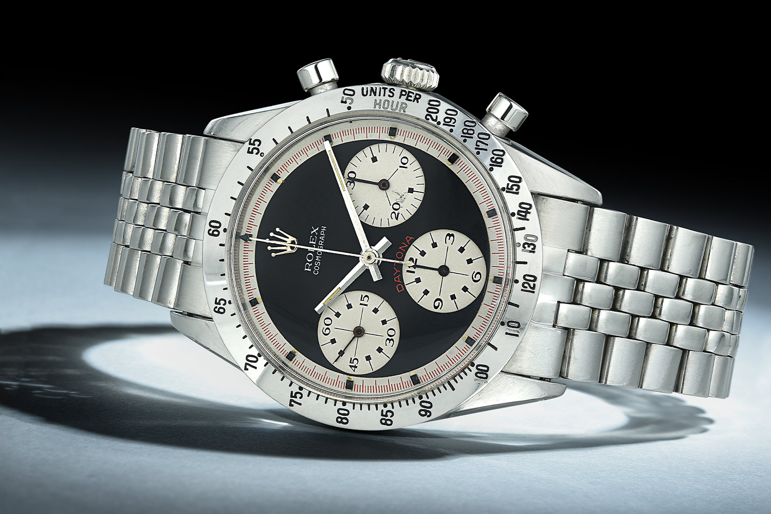 Rolex Paul Newman Daytona 6239 Black Dial - Fortuna Auction NYC