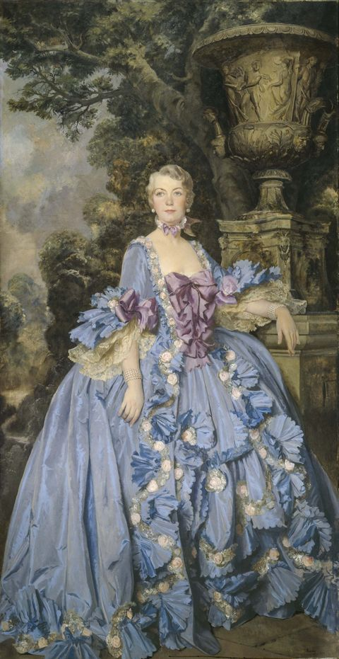 Portrait of Anna Thompson Dodge, painted by Sir Gerald Kelly.