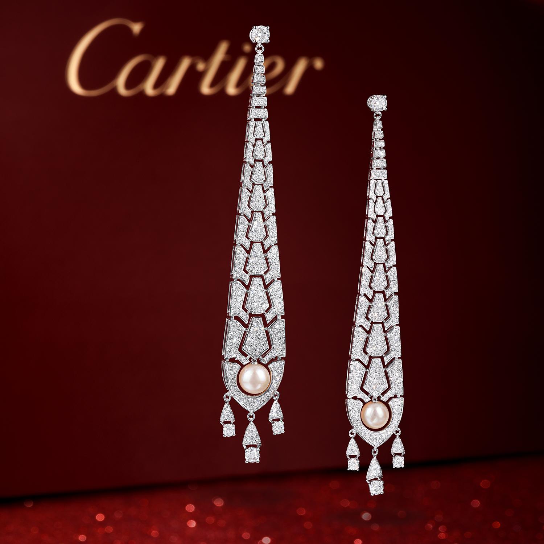 Cartier Evasions Joaillerie Earrings