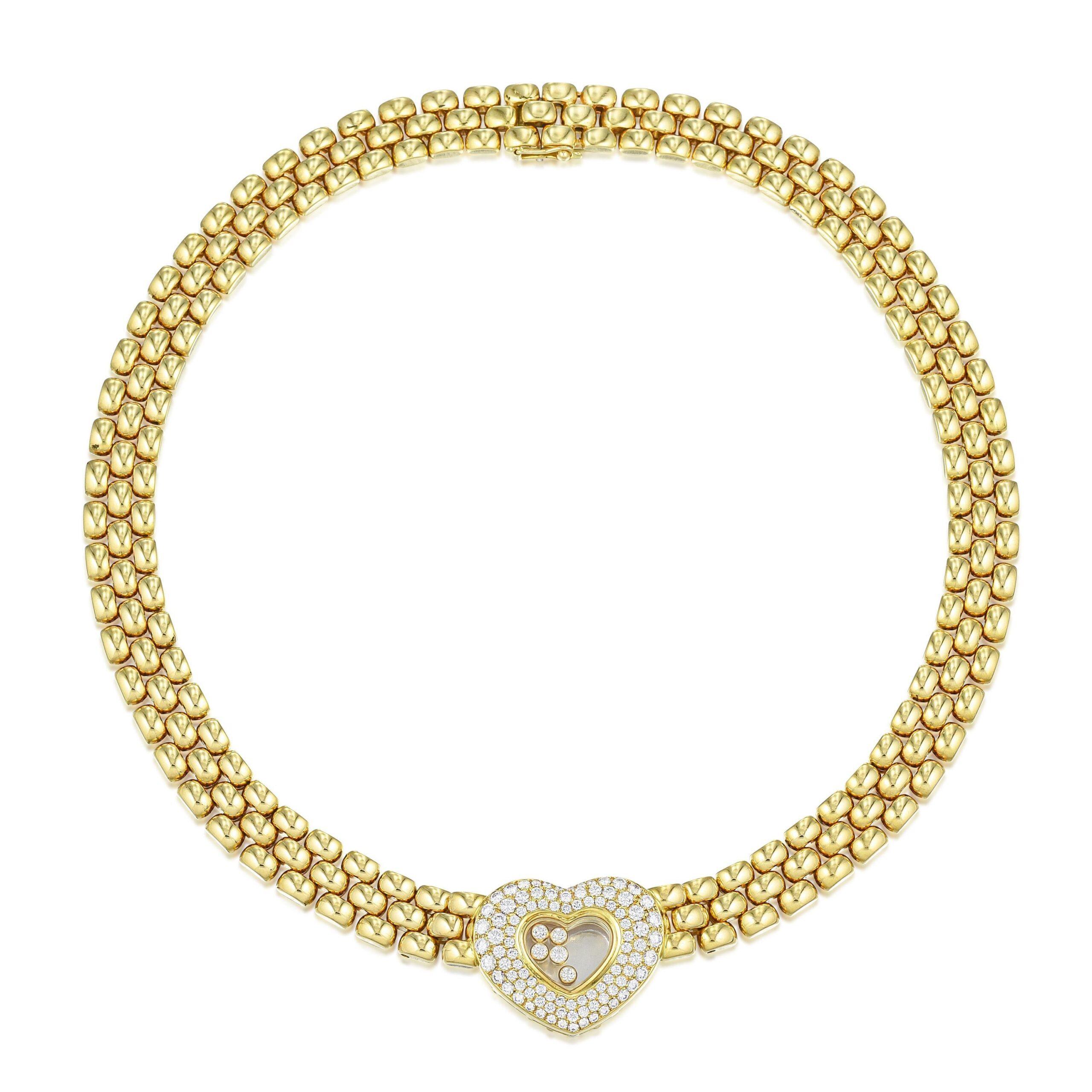 Chopard Happy Diamonds Heart Necklace